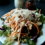 The wonderful -- and generous -- Lunch Special side salad!
