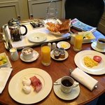 Yummy Breakfast at the St. James Hotel and Club