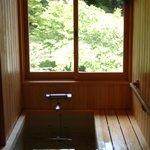 総檜の風呂