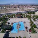 Pool at M hotel