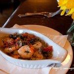 some shrimp dish.