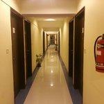 The floor lobby