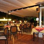 Abendliche Romantik im Restaurant