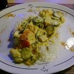 Chicken Indian Rice