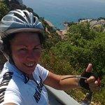 Incredible views on the Sant Grau ride
