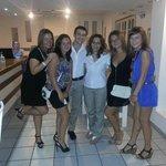 Фото нас и удивительных сотрудников отеля - Вани и Дианы)
