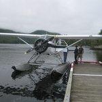 Wasserflugzeuge sind ein Muss, und danach seafood