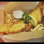 Summer Cod and Chips