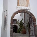 The entrance