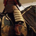 Samurai and horse fully clad