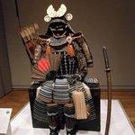 Samurai armor and sword