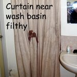 It seems the Curtain next to the Washbasin (in the main room) was used as a towel