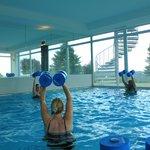 Wassergymnastik als kostenloses Angebot für Gäste