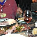 Cold meats with reblouchon cheese