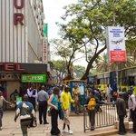 Downtown streets of Nairobi CBD