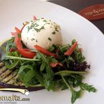 Aubergine & Bufala Salad