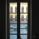 Baths seen from the window