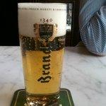 Het beroemde Brand Biertje...