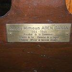 Rabbi Aben Danan's chair