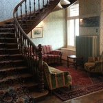 Lobby Stairs    - Bellevue des Aples