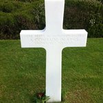 American Military War Cemetery - unknown American soldier