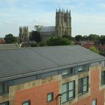 View of the Minster from East Riding Treasure House.