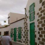 façades de maisons à Aguimès