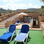 Caverna suite terrace and hot tub