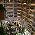 Interieur Hotel et salle de resaurant et petit dejeuner