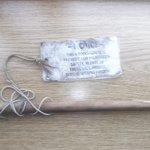 Notice / wooden dowel - bâton de sécurité / 13 août 2013.