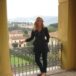 View from top terrace at Villa Moorings