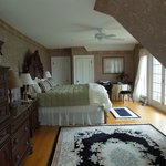 Sunrise room on the third floor with private deck