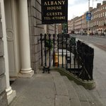 Entrance to Albany House
