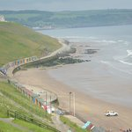 lovely beach of Whitby, North Yorkshire