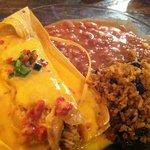 Mariposa's Latin Kitchen  - Chicken Tamale
