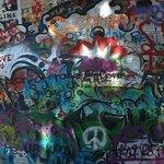 John Lennon Graffiti Wall