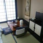 Japanese tea time area