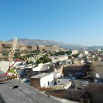 view from the terrace of the riad Dar Naima, Fez