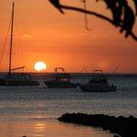Les couchers de soleil sur le lagon!!!!