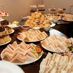 A really lovely, fresh buffet for the Tea Party :-)