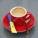 Une belle tasse à café