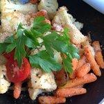 cauliflower carrot gratin