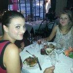 Natalie's 21st dinner at The Old Post - fantastic!