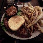 12 oz. steak & fries