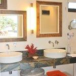 La salle de bain des chambres Mer