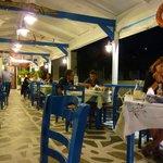 Taverna at night