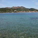 mare e Porto Azzurro visto dalla spiaggia privata
