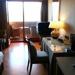 Parador segovia room with balcony