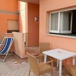 Terrasse Chambre 108