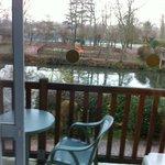 balcon et vue sur la seine